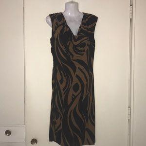 Ronni Nicole Animal Print Dress